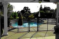 pool fence features